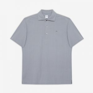 HERRINGBONE POLO SHIRT