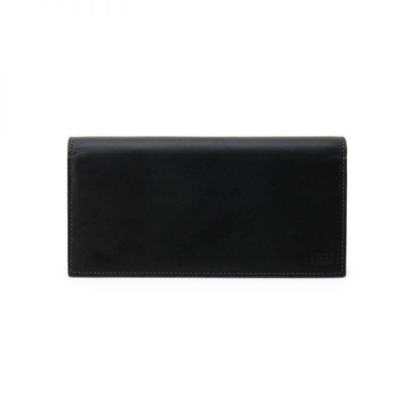 BLACK ANTIQUE LONG WALLET