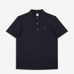 NAVY FIELDSENSOR DYEDLIKE POLO SHIRT
