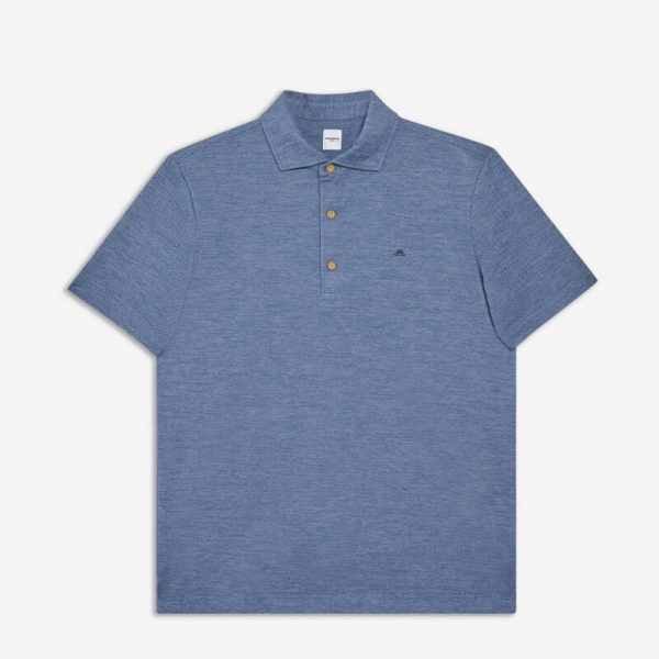 BLUE FIELDSENSOR DYEDLIKE POLO SHIRT
